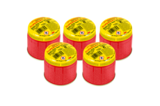 Gas cartridge-set 5- pc.