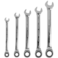 5pc. Gear Wrench Set 8-17 mm