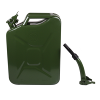 20L Metal jerry can set with spout #04