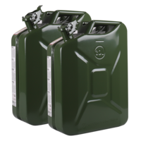20L Metal jerry can set with spout #02